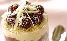 mousse ciliegie cioccolato
