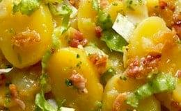 patate pancetta in insalata