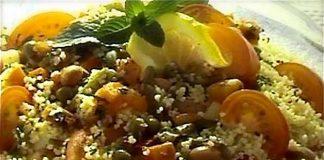 couscous pomodori menta capperi