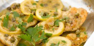 Petti di pollo limone e capperi