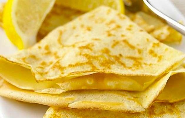 Ricetta crepes zucchero e limone