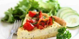 torta salata ricotta pomodorini