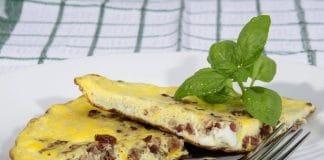 frittata veloce pancetta