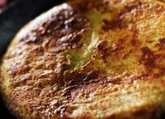 frittata pane e formaggio