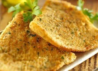 ali di razza fritte panate al parmigiano