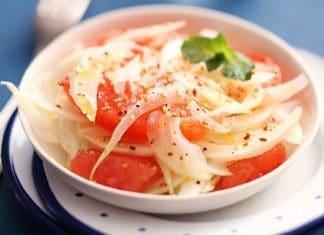 insalata finocchi pompelmo