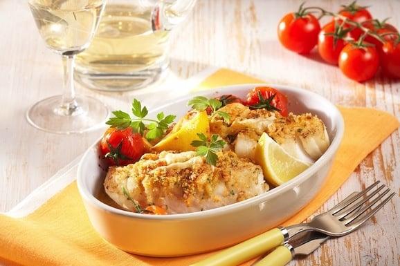 come si cucina il baccalà gratinato in bianco - ricette in 30 minuti - Come Si Cucina Il Baccala