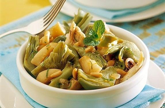 Come Cucinare Calamari E Cuore Di Carciofi In Padella Ricette In 30 Minuti