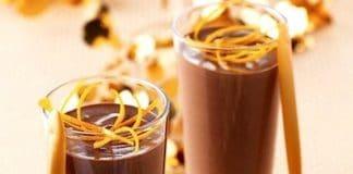 mousse facile cioccolato arancia