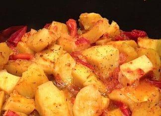 patate pizzaiola in padella