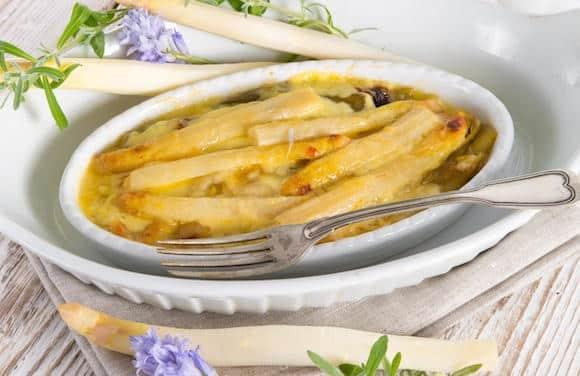 come cucinare gli asparagi bianchi al forno senza burro