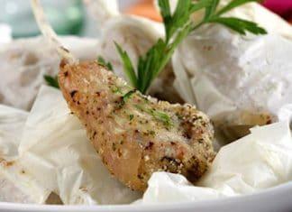 costolette agnello forno
