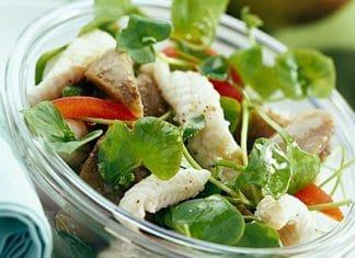 Sogliola fresca in insalata