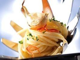 spaghetti aglio olio peperoncino light