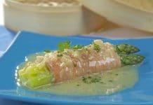 antipasto asparagi e salmone