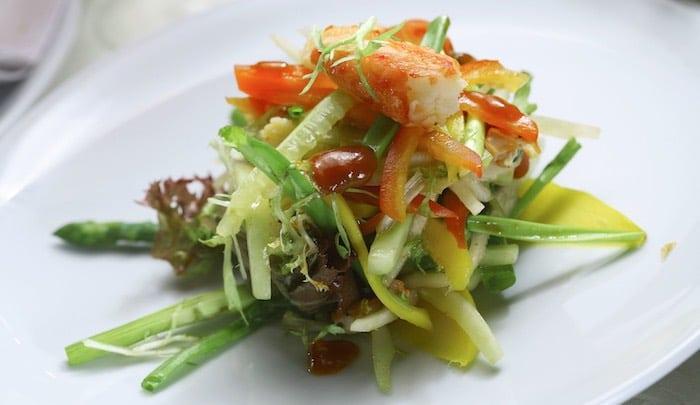 Piatti freddi estivi insalata sfiziosa con gambero for Ricette piatti freddi