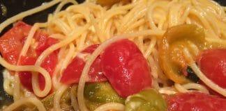 pasta pomodori verdi