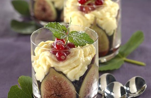 desser fichi crema pasticcera