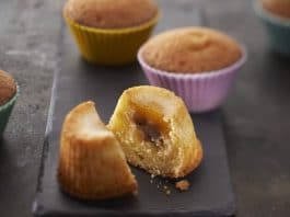Muffin con crema di castagne