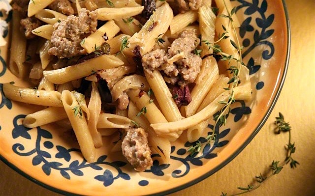 pasta salsiccia e finocchi