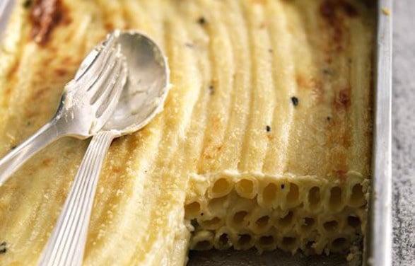 pasta-in-bianco-gratinata