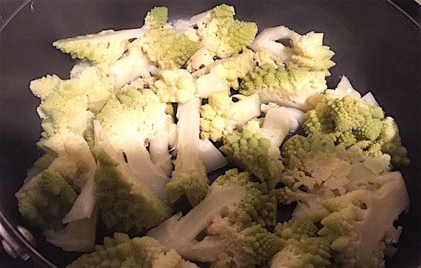 Come fare cime di cavolfiore in padella senza friggere for Cucinare broccoli