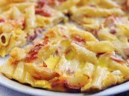 frittata pasta corta