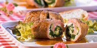 involtini carne broccoli e ricotta