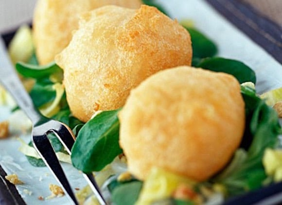 frittelle salate patate formaggio