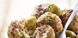 polpette carne agnello e olive