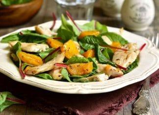 insalata-tacchino-zucche-bietole-estiva