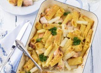 pasta- corta al-forno-corta-aparagi-salmone