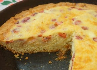 dolci senza forno torta ciliegie in padella