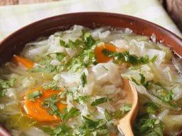 zuppa sedano e cavolo ricette 30 minuti