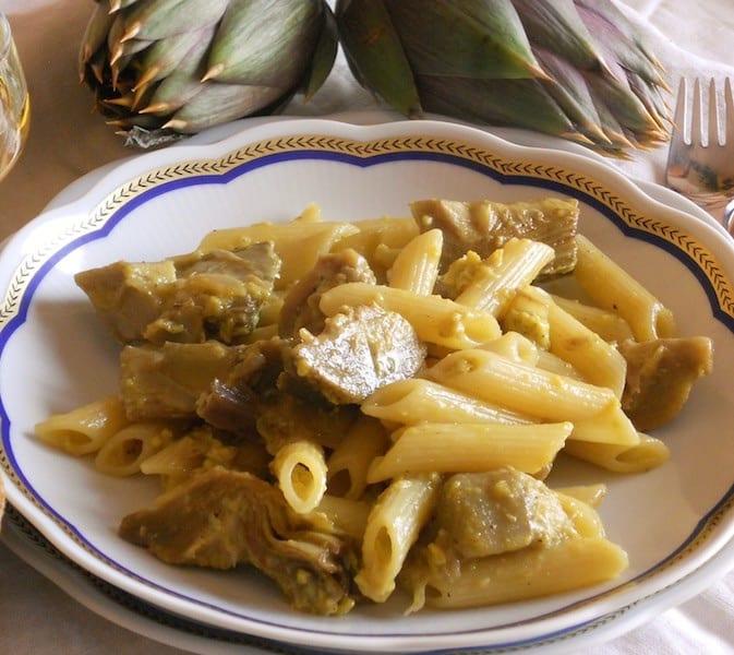 Ricette Con Carciofi Surgelati.Carciofi Surgelati E Uova Ecco La Pasta Corta Alla