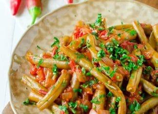 cucina-libanese-ricette-fagiolini-e-pomodoro
