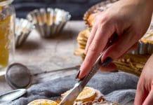 muffin con limoni non trattati