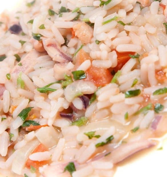 risotto estivo caldo ricetta