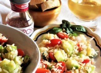 insalata di riso estiva light