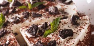 Cheesecake senza cottura con gli Oreo