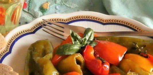 peperoni e friggitelli in padella ricetta