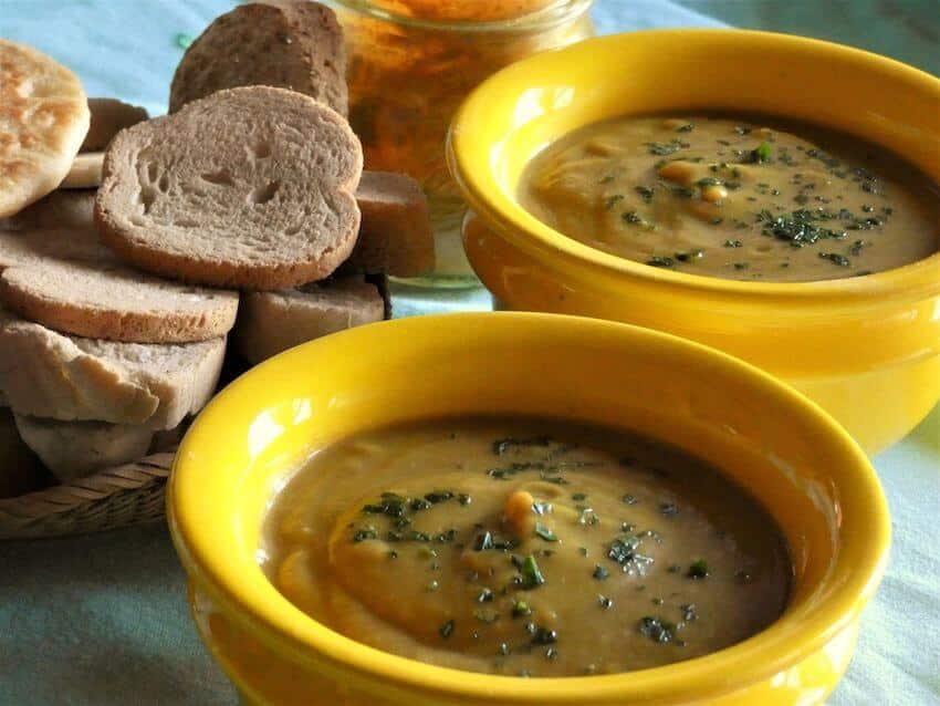 ricetta minestra cavoli curcuma