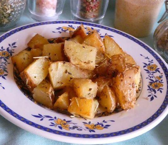 patate rosse al forno ricetta