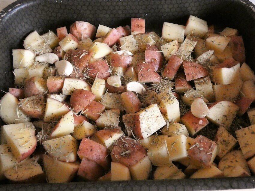patate rosse al forno step 2