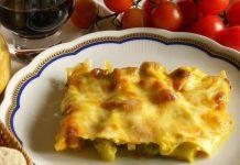 lasagna bianca broccoli formaggio