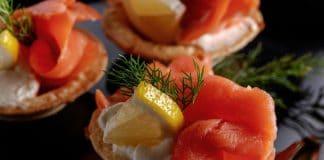 ricette natale tartine salmone ricotta limone