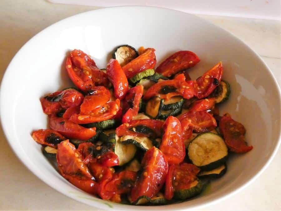 insalata verdure grigliate foto 1