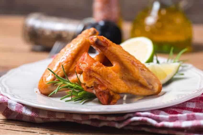 ali di pollo al forno ricetta veloce